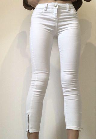 Jeansy białe rozmiar 36
