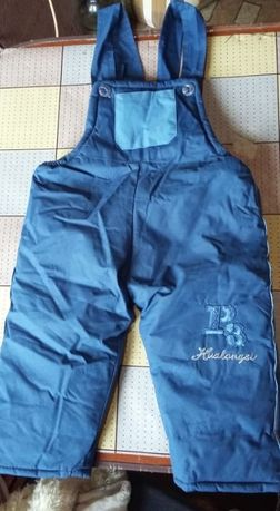 Комбінезон + куртка синього кольору (зима)