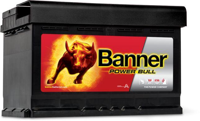 Akumulator Banner Power Bull 12V 74Ah 680A P74 12