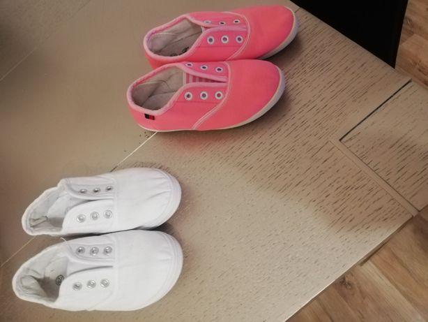 Pantofle szkolne trampki, trzewiki, tenisowki, miękkie, na gumke