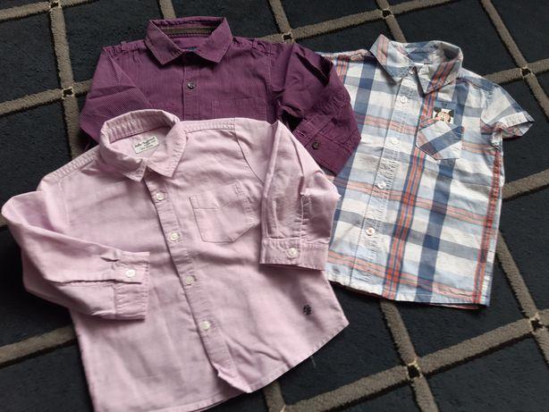 Zestaw 3 koszul dla chłopca 80/86