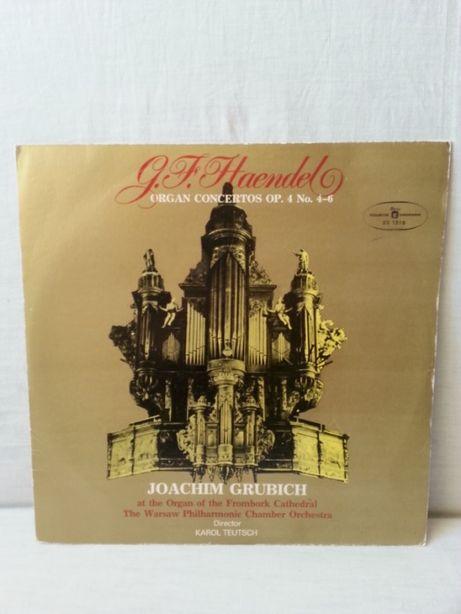 Płyta winylowa G.F.Haendel Koncerty organowe F-dur