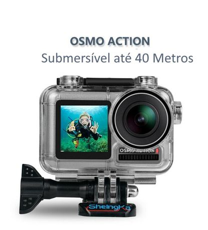 Caixa Estanque Osmo Action - 40 Metros - Novo - Portes Grátis