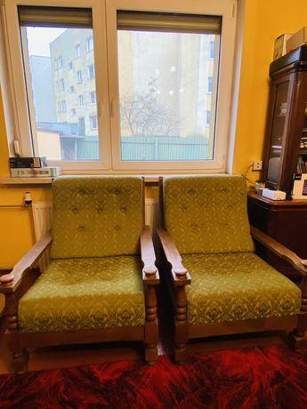 Komplet dwoch  foteli vintage