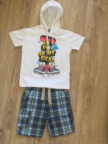 Продам летний набор для мальчика (шорты и футболку)на возраст 3.5-4.5г