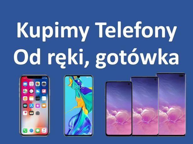 SKUP TELEFONÓW - GOTÓWKA - iPhone Samsung Huawei Nowe/Używane W-WA