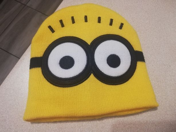 Nowa czapka minionki