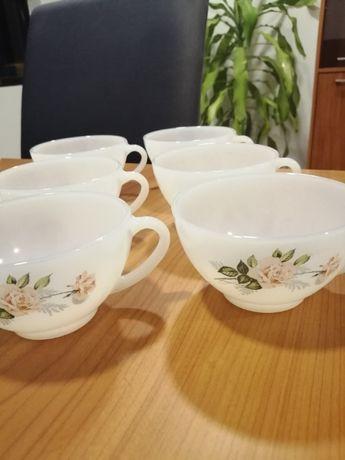 6 Canecas / chávenas de porcelana