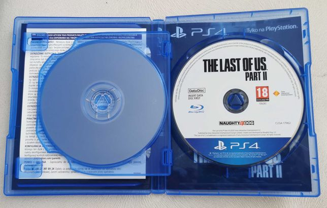 The last of us 2 ps4/ps5