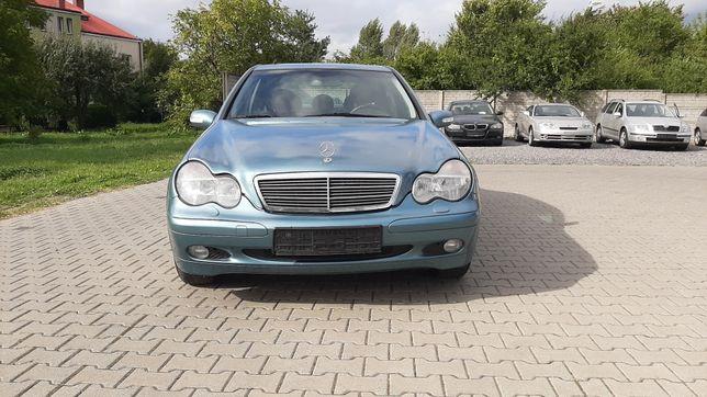 Mercedes c200 benzyna kompressor sprowadzony