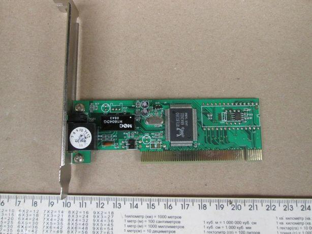 Сетевая карта PCI Acorp L100S 100Mbit, Realtek RTL8139D.