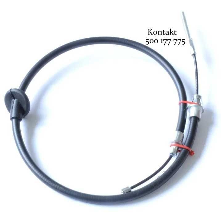 Linka hamulca ręcznego główna środkowa FORD MAVERICK 83cm lub 100cm