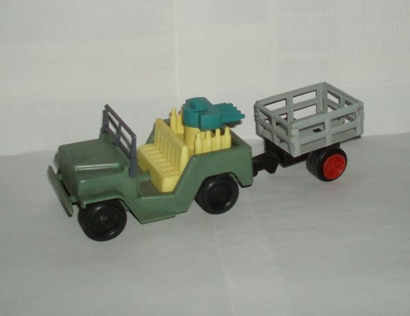 Винтаж авто джип УАЗ модель прицеп Страуме Straume СССР клеймо