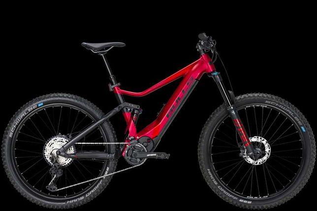 BULLS AM4 model 2021 Brose S Mag, 750Wh, FOX, czerwony