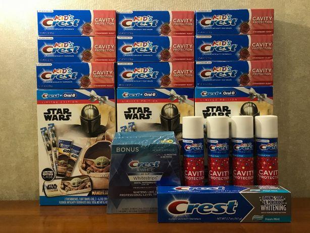 Детская зубная паста Crest Kids. Дитяча зубна паста Crest . США