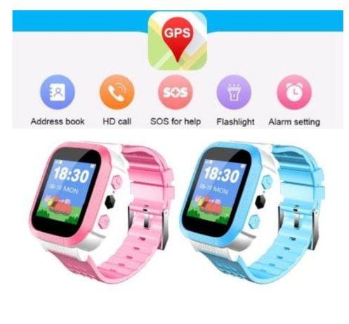 Smartwath dla dziecka zegarek, sos alarm GPS