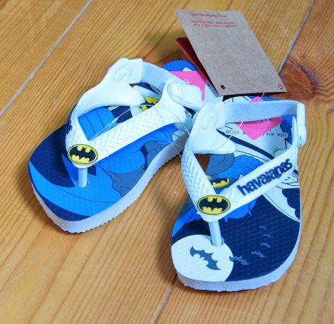 Klapki japonki buty niemowlęce r 19 Batman