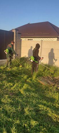 Покос травы от 1 сотки до 2 гектар в сутки