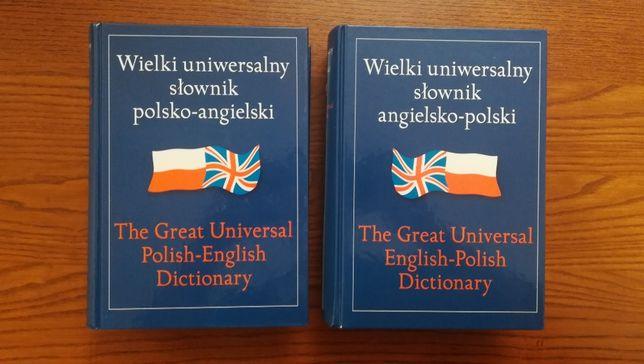 Wielki uniwersalny słownik polsko-angielski/angielsko-polski