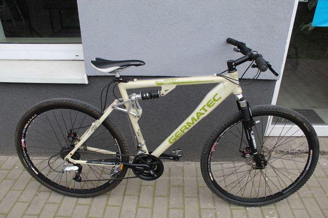 "Rower crossowy GERMATEC, 53 cm,28"", DEORE XT, Full Amor, Tarcze"