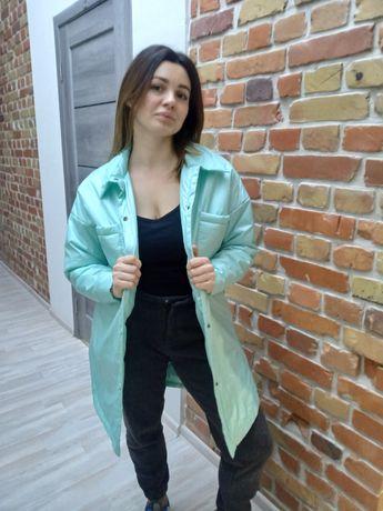 Куртка рубашка ветровка как Zara