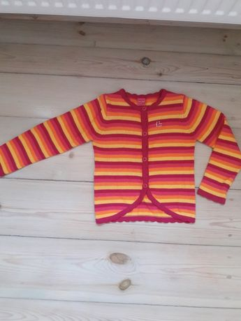Kardigan Sweterek dla dziewczynki rozm. 116 sweter