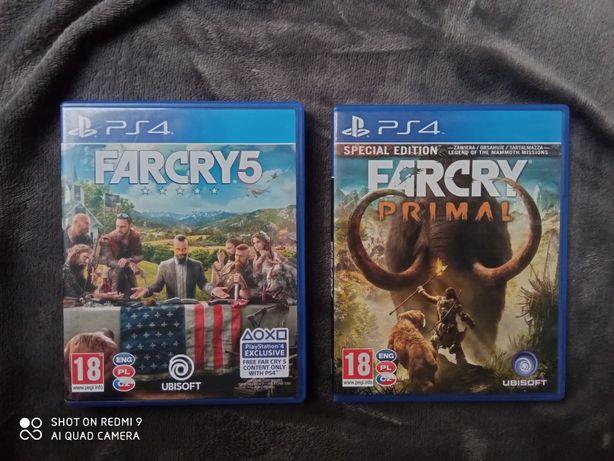 Farcry 5 & Primal zestaw tanio zamiana