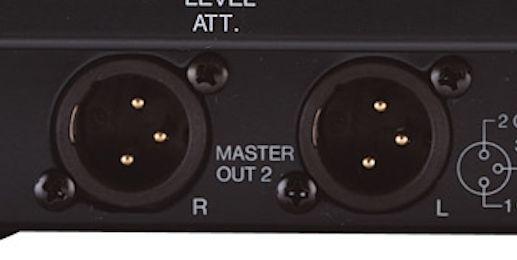 Pioneer DJM-600 - gniazdo XLR nowe DKN1201