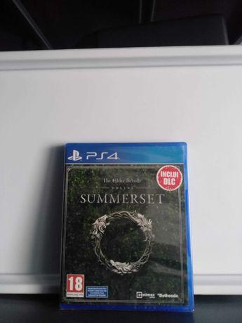 The Elder Scrolls Online Summerset PS4 (NOVO/SELADO)