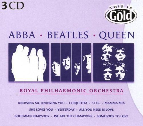 The Royal Philharmonic Orchestra 3 CD´S – ABBA, Beatles, Queen