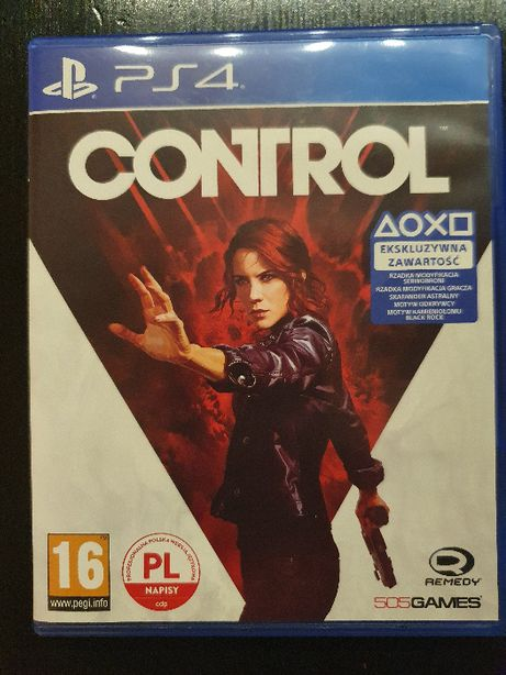 Control PL PS4 Playstation 4 stan idelny
