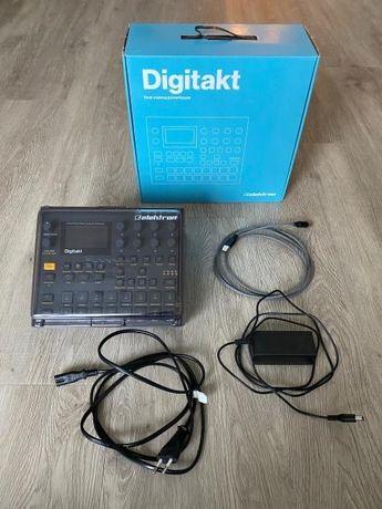 Digitakt + Decksaver - sem marcas de uso