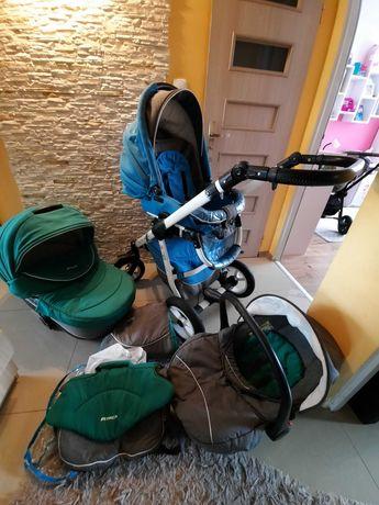 Sprzedam wózek 3w1 rico nano