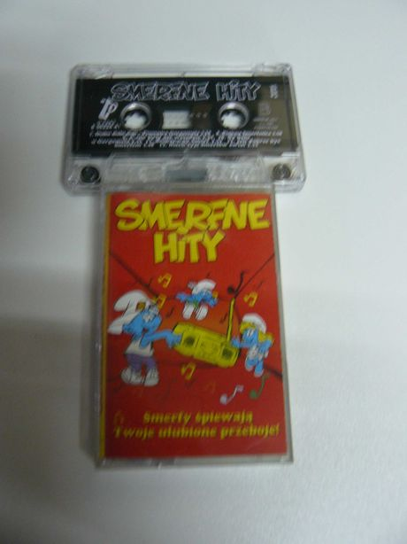 Smerfne Hity Oryginał kaseta magnetofonowa