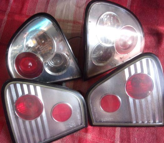 Lampy tylne Chrom Białe Lexus SEAT Cordoba 6K 99-02