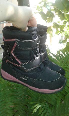Сапожки сапоги черевики geox для девочки 34 размер