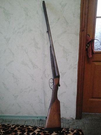 Старинное охотничье ружье Льеж