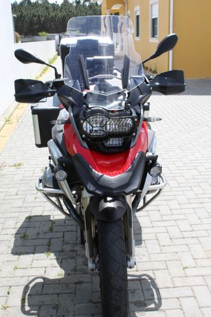 Moto BMW Gs 1200  C/ 3 malas