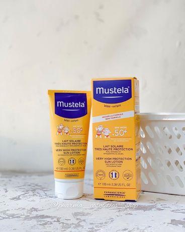 Солнцезащитный крем Mustela для детей