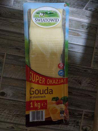 Сир Гауда 1 кг різаний