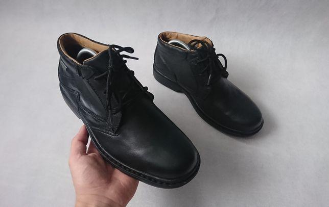 Ботинки мужские кожаные Clarks Gore-tex Оригинал Размер 41