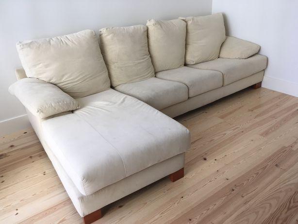 sofá com 3 lugares usado