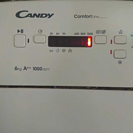 Pralka Candy ładowana od góry super stan 6kg A++ 1000