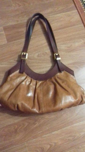 Продам кожаную сумку
