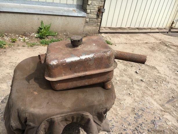 Бак для масла топлива с нержавейки минитрактора самодельного трактора