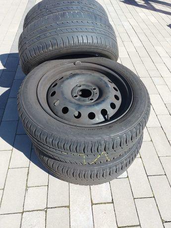 "FELGI STALOWE ""15"" Nissan Micra K12 K13 Koła  OPONY LETNIE gratis"