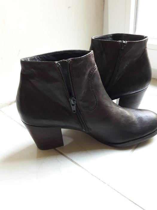 Ботинки Женские, кожаные р-р 40. Одесса - изображение 1