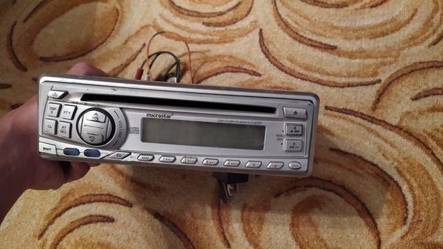 Магнитола JVC магнитофон, автоакустика мафон