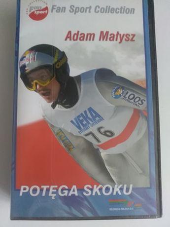 Kaseta VHS Adam Małysz POTĘGA SKOKU st.bd