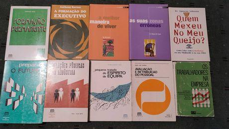 Lote 22 Livros Desenvolvimentos Pessoal e Coaching